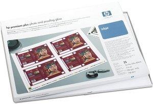 HP Q5487A Premium Plus Foto und Proofing Papier hochglänzend A2+, 286g, 20 Blatt