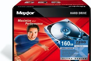 Maxtor Ultra 16 Hard Drive Kit 160GB, IDE (L14P160)