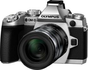 Olympus OM-D E-M1 silber mit Objektiv M.Zuiko digital ED 12-50mm (V207015SE000)