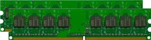 Mushkin Essentials DIMM Kit 4GB, DDR2-800, CL5-5-5-18 (996558)