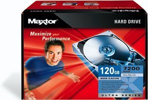 Maxtor Ultra 16 Hard Drive Kit 120GB, IDE (L14P120)