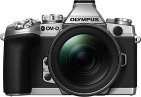 Olympus OM-D E-M1 silber mit Objektiv M.Zuiko digital ED 12-40mm (V207017SE000)