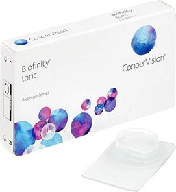 Cooper Vision Biofinity toric, -6.00 Dioptrien, 6er-Pack