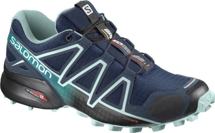 Salomon Damen Speedcross 4 Trailrunning-Schuhe, Blau (Poseidon/Eggshell Blue/Black), 40 EU
