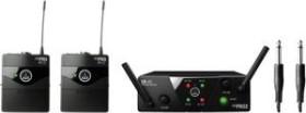 AKG WMS40 Mini2 Dual Instrumental set (various frequencies)
