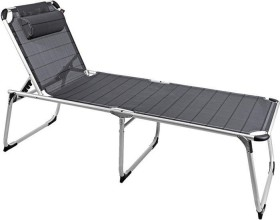 Outwell New Foundland XL camping sunbed grey (410076)