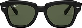 Ray-Ban RB2186 State Street 52mm black/green classic (RB2186-901/58)