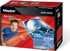 Maxtor Ultra 16 Hard Drive Kit 250GB, IDE (L14P250)