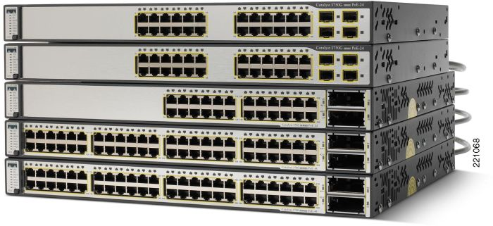 Cisco Catalyst 3750G-48TS-S, 48-Port, managed, stackable (WS-C3750G-48TS-S)
