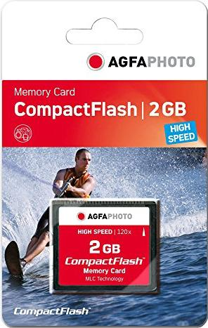 AgfaPhoto CompactFlash Card [CF] 120x 2GB (10431) -- via Amazon Partnerprogramm