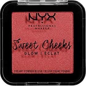 NYX Sweet Cheeks Creamy Powder Blush Glow citrine rose, 5g