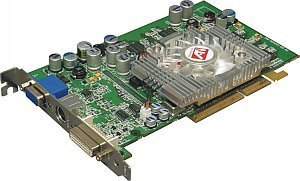 HIS (Enmic) Excalibur Radeon 9600 Pro, 128MB DDR, DVI, TV-out, AGP