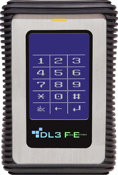DataLocker DL3 FE RFID 2TB, USB 3.0 micro-B (DL2000FE2F/FE2000RFID)