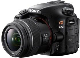 Sony Alpha 65 schwarz mit Objektiv AF 18-55mm 3.5-5.6 DT SAM (SLT-A65VK)