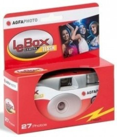 Bild AgfaPhoto Lebox Camera Flash Einwegkamera