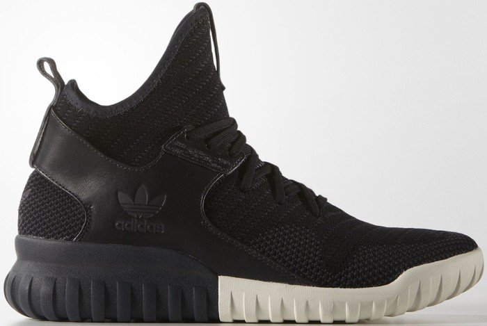 newest fccf2 43050 adidas tubular X Knit core black carbon solid grey (men) (S81674