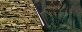 Europet-Bernina Fotorückwand Tree & Rock, 60x30cm (241/108994)