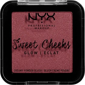 NYX Sweet Cheeks Creamy Powder Blush Glow bang bang, 5g