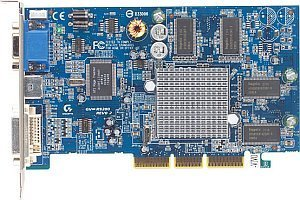 Gigabyte Maya Radeon 9200, 64MB DDR, DVI, TV-out, AGP (GV9264DH)