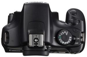 Canon EOS 1100D black with lens EF-S 18-55mm 3.5-5.6 (5161B031)