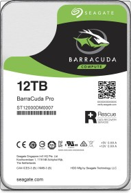 Seagate BarraCuda Pro +Rescue 12TB, SATA 6Gb/s (ST12000DM0007)