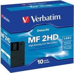 Verbatim DataLifePlus floppy discs [Floppy] 1.44MB, 10-pack (87706/87410)