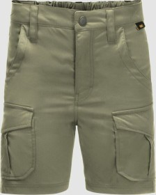 Jack Wolfskin Treasure Hunter Shorts Hose kurz khaki (Junior) (1608401-4288)