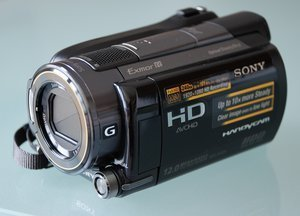 Sony HDR-XR520VE -- provided by bepixelung.org - see http://bepixelung.org/4998 for copyright and usage information