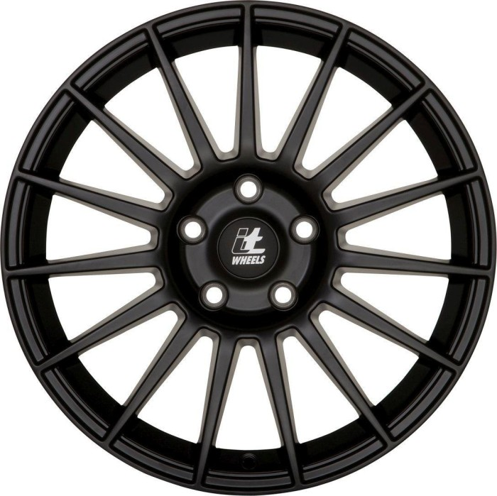 7.5X17 ET35 5X100 itWheels SOFIA matt black