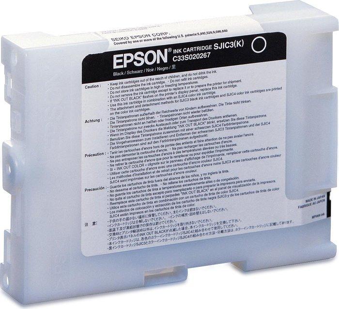Epson SJIC3(K) Tinte schwarz (C33S020267)