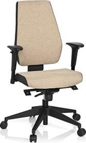 HJH Office Pro-Tec 500 Bürostuhl, beige (608819)