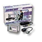 Gericom PCMCIA modem 56k + Fast Ethernet 10/100MBit