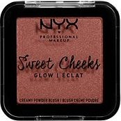 NYX Sweet Cheeks Creamy Powder Blush Glow risky business, 5g