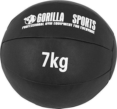 Bild Gorilla Sports Medizinball 6kg schwarz (100783-00019-0011)