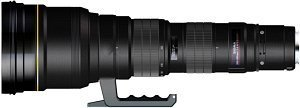 Sigma AF 300-800mm 5.6 EX APO HSM IF for Canon (594954)