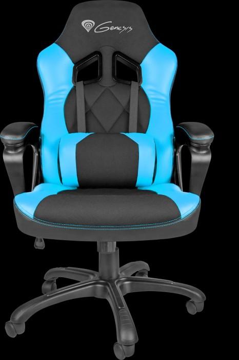 Genesis Nitro 330 gaming chair, black/blue (NFG-0782)