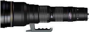 Sigma AF 300-800mm 5.6 EX APO HSM IF for Nikon F black (594955)