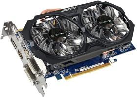 GIGABYTE Radeon R7 260X Windforce 2X OC (Rev 2.0), 2GB GDDR5, 2x DVI, HDMI, DP (GV-R726XWF2-2GD)