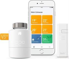 tado smart radiator thermostat starter kit V3+, horizontal Installation (V3P-SK-SRT01HIB01-TC-ML/103111)