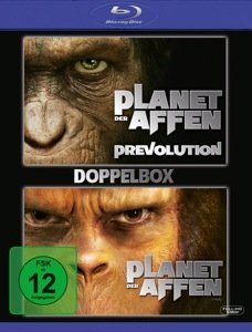 Planet der Affen/Planet der Affen: Prevolution (Blu-ray)