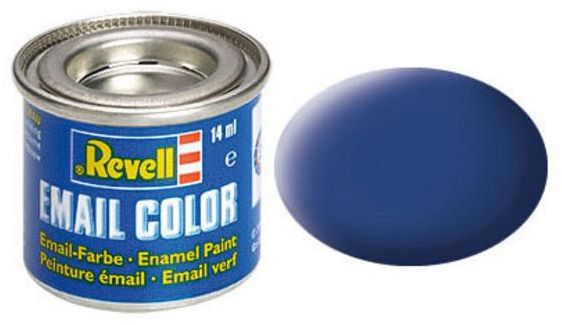 Revell Email Color blau, matt, RAL 5000, Dose, 14ml (32156)