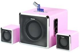 Technaxx MusicMan BT-X3 2.1 Soundstation pink