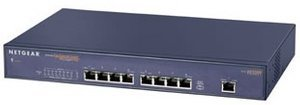 Netgear FS509T switch with Gigabit Uplink