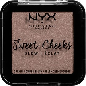 NYX Sweet Cheeks Creamy Powder Blush Glow so taupe, 5g