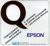 Epson 7768/S015255 carbon ink ribbon black
