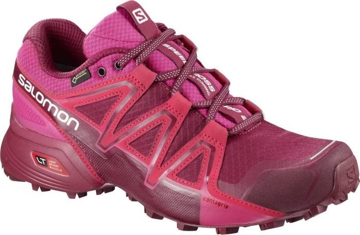 Salomon Damen Speedcross Vario 2 GTX Trailrunning-Schuhe, Pink/Rot (Cerise/Beet Red/Pink Yarrow), Gr. 39 1/3