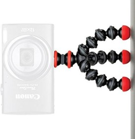 Joby GPod Mini Magnetic Dreibeinstativ schwarz//grau//rot