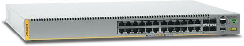 Allied Telesis x510 Rackmount Gigabit Managed Stack Switch, 24x RJ-45, 4x SFP+ (AT-X510-28GTX / 990-003614)