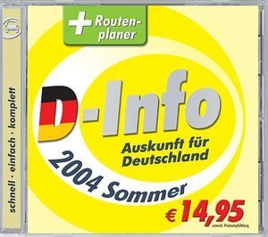Buhl Data D-Info & Route 2004 Sommer (PC)