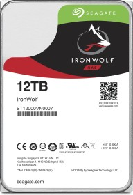 Seagate IronWolf NAS HDD 12TB, SATA 6Gb/s (ST12000VN0007)